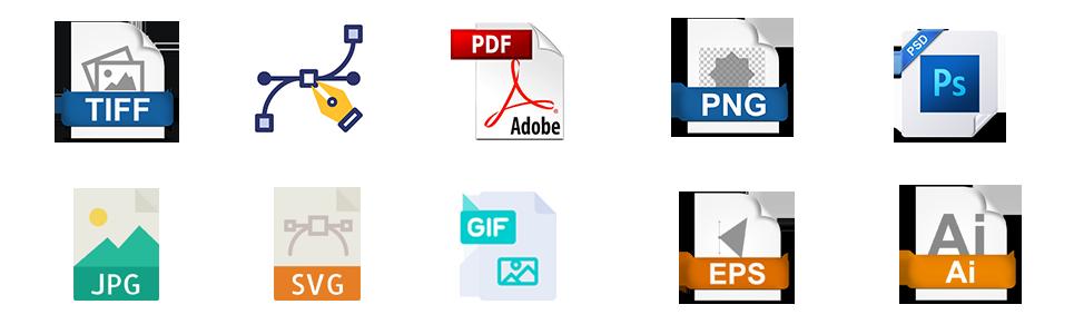 logo design deliverables