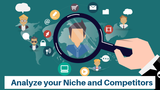 anaylze your niche and competition