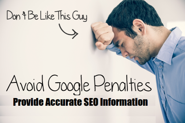 Accurate SEO Information