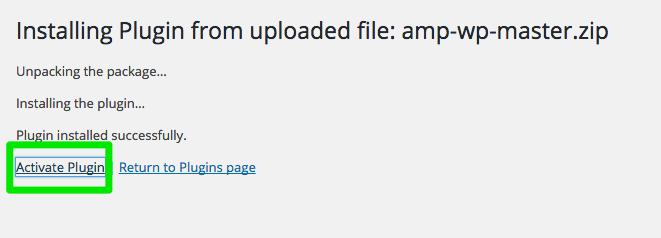 Google-AMP-Activate-Plugin