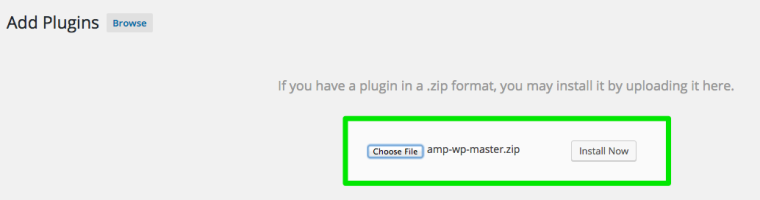 Google-AMP-Install-WordPress-Plugin