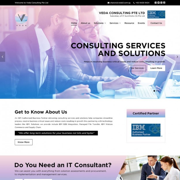 Veda Consulting Pte Ltd