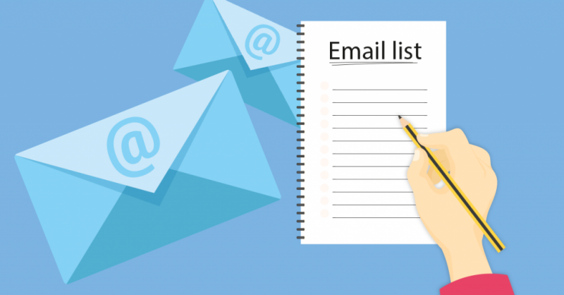 No Strategy For Building An Email List