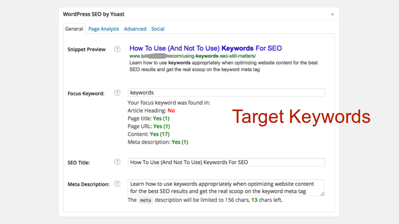 Your Website Page Is Focused On One Keyword Instead Of Addressing Topic