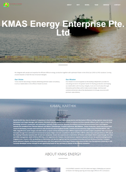 KMAS Energy