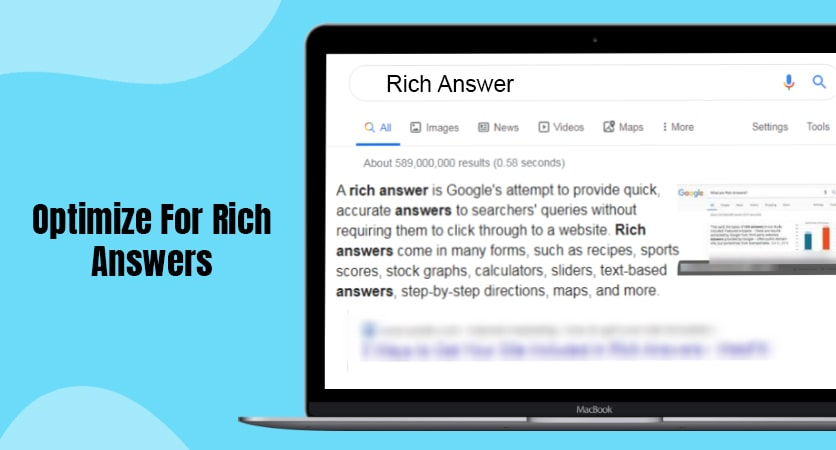 Optimize for Rich Answers