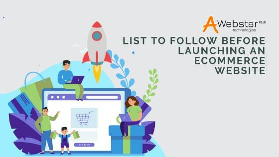 List to Follow Before Launching an eCommerce Website