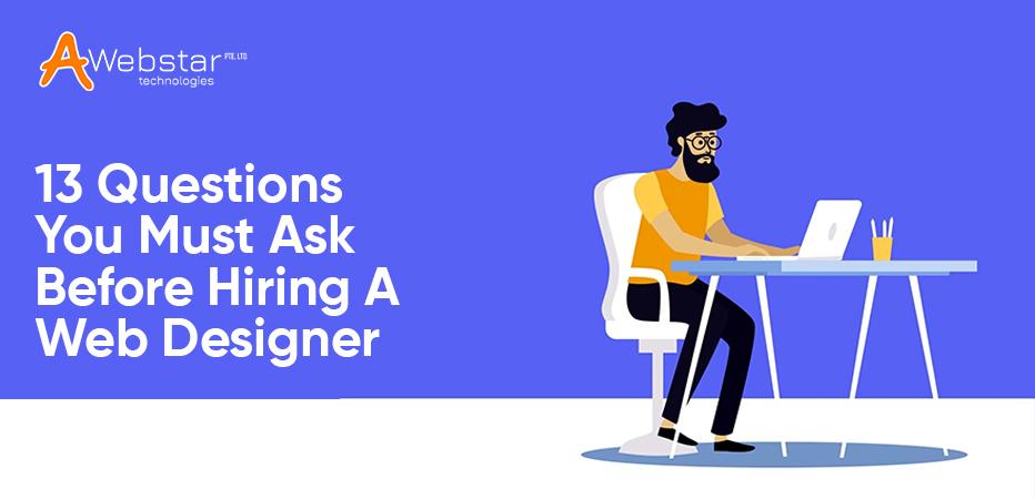 Before Hiring a Web Designer