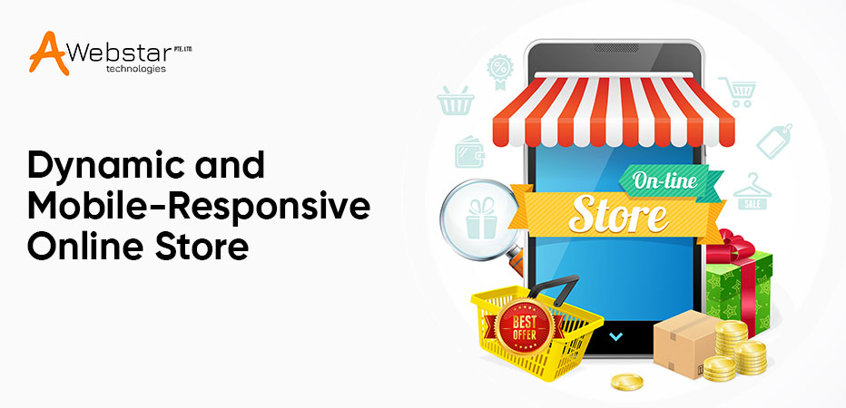 Mobile-Responsive Online Store